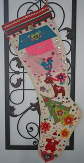 Christmasvintagestocking